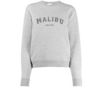 'Malibu' Sweatshirt mit Rundhalsausschnitt