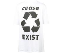 """T-Shirt mit """"Cease Exist""""-Print"""