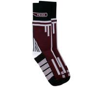 Socken mit Jacquardmuster