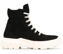 Sneaker-Boots aus Wildleder