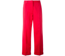Cropped Trousers Red - Unavailable