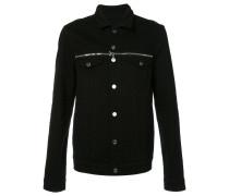 Jacke mit doppeltem Reißverschluss