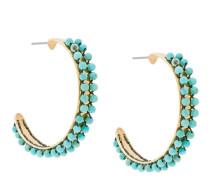 Kreolen mit Perlen