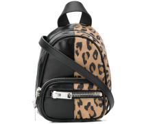Mini Rucksack mit Leopardenmuster
