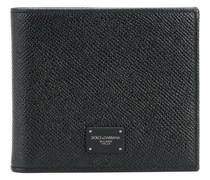 logo plaque billfold wallet