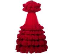 long oversized fluffy dress
