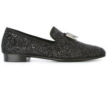 Loafer mit Glitzer-Applikation