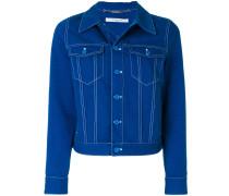 Jeansjacke mit Stern-Patch