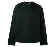 Sweatshirt mit Slogan-Detail