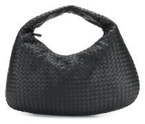 Hobo-Handtasche aus geflochtenem Leder
