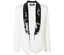 sequin embellished blazer