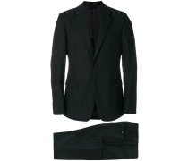 notched two-piece formal suit