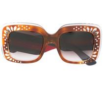 Sonnenbrille mit verziertem Gestell