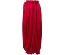 draped harem trousers