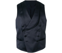 asymmetric button up waistcoat