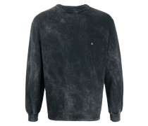 T-Shirt mit Acid-Wash-Effekt