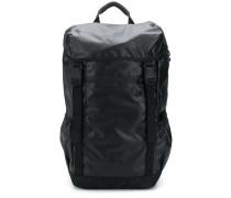 Oversized-Rucksack mit Schnallen