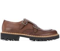 Monk-Schuhe mit doppelter Schnalle