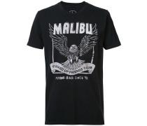 'Malibu FUFC' T-Shirt mit Brusttasche