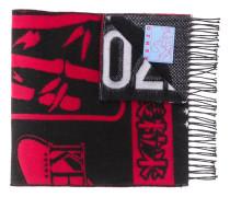 Schal mit Kontrast-Logo