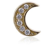 Mond-Anhänger mit Diamanten