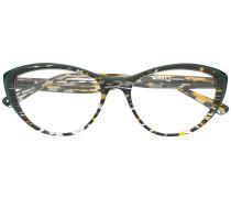 Brille mit Print