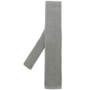 Krawatte mit eckiger Spitze