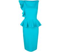 Dinara peplum hem fitted dress