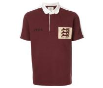 Poloshirt mit Löwen-Patch