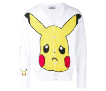 'Pikachu' Intarsien-Cardigan