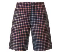 Shorts mit Vichy-Karomuster