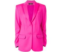 V-neck buttoned blazer