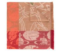 Schal mit Graffiti-Print