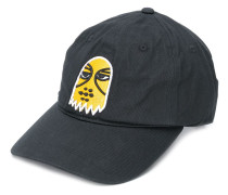 embroidered face cap