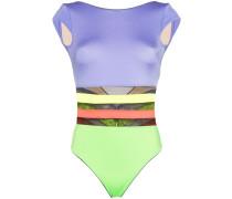'Zenaya' Badeanzug in Colour-Block-Optik