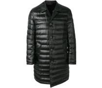 padded mid-length coat