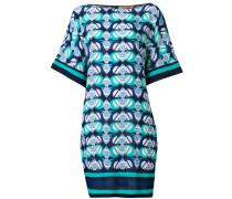 Kaftan-Kleid mit geometrischem Print