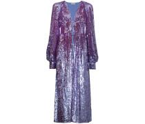 Paillettenbestickte Robe