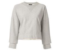 Sweatshirt mit aufgerauten Kanten