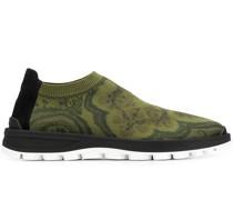 Sock-Sneakers mit Jacquardmuster