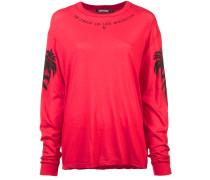 Sweatshirt mit verzierten Ärmeln