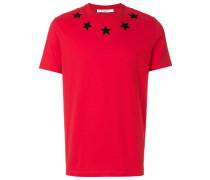 Cuban-fit star appliqué T-shirt