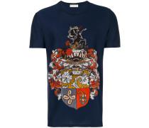 T-Shirt mit Wappenmotiv