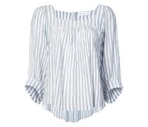 Khadi striped blouse