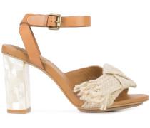Sandalen mit Knoten-Detail
