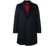 Klassischer Mantel mit aufgesetzten Taschen