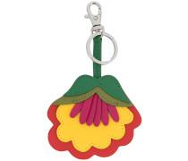 Schlüsselanhänger mit Blumen-Motiv