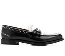 'Pembrey' Loafer mit Nieten