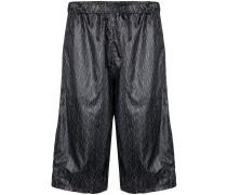 Shorts mit durchgehendem Print