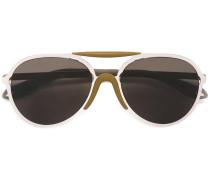 Pilotenbrille mit gefärbten Gläsern
